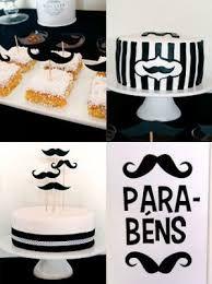 Resultado de imagem para decoração festa bigode grosso