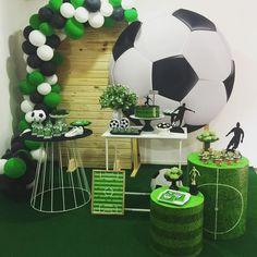 Soccer Banquet, Cheer Banquet, Soccer Party, Sports Party, Soccer Birthday Cakes, Birthday Balloons, Boy Birthday, Cherry Blossom Wallpaper, Birthday Surprise Boyfriend