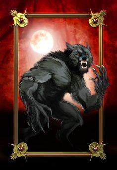 Werewolf by devrimkunter on DeviantArt Fantasy Creatures, Mythical Creatures, Anubis, Caricatures, Apocalypse, Wolf Hybrid, Werewolf Art, Werewolf Games, Howl At The Moon