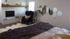 Parents Room, Basement Remodeling, Laminate Flooring, Decoration, Foyer, Bed, Design, Furniture, Home Decor