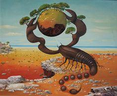 scorpion - Zodiaque surréaliste par Vasko Taskovski