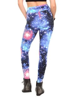 Bright Galaxy Leggings Pre-Order | Hot Topic