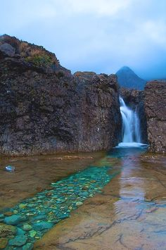 Fairy Pools in the Cuilins, Scotland (Isle of Skye)