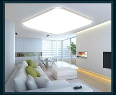 Lámpara LED de techo 6086,Marco de Plata, mando a distancia, color de luz/brillo ajustable, extrafina, 10cm: Amazon.es: Iluminación