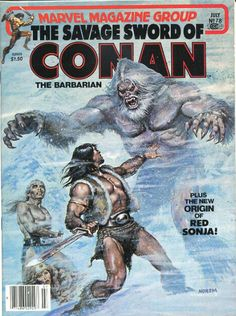 COMIC savage sword of conan 78 #comic #cover #art...I actually have this issue put up