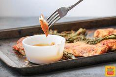 Quick Chicken & Baby Broccoli with Spicy Peanut Sauce #WeekdaySupper