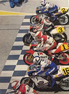 Starting Grid 500 cc 1987
