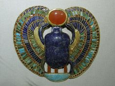 Solar Scarab Pendant from Tutankhamun's Tomb by  Unknown Artist
