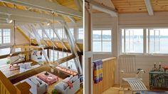 Boathouse, Little Diamond Island, Maine Timber Buildings, Boathouse, Tiny House, Beach House, Maine, Architecture, Island, Diamond, Design