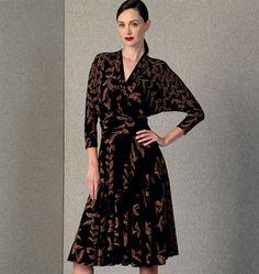 Patron de robe - Vogue 1405