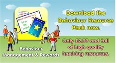 Want some resources to help promote and reward good behaviour? Download our resource pack and get all of our behaviour management resources including all of our certificates. www.teachingessentials.co.uk/store.html