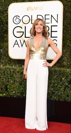 """Felicity Huffman, nominee for best performance by an actress in a limited series or a motion picture made for television for her role in """"American Crime."""""""
