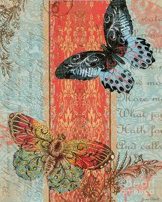 Royal Tapestry Butterfly-c2 Digital Art