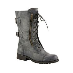 Pristine Punk Combat Boots
