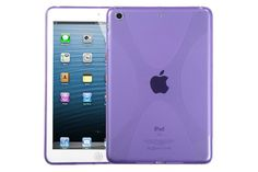 Crystal Matte X-Line Flexible Soft TPU Rubber Protector Cases for iPad mini 3, 2 and 1 | Lagoo Tech