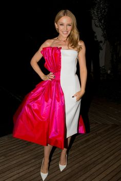 Kylie Minogue at the annual amfAR The Foundation for AIDS Research Inspiration Gala in São Paulo  Kevin Tachman / BackstageAT  More images: http://bkstge.at/amfARsp2015
