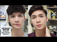 Get Ready With Me: KOREAN MALE MODEL INSPIRED - Edward Avila - YouTube