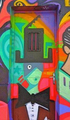 Colorful Doors ~ Rua Cardeal Arcoverde, São Paulo