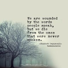 Those Words- Spoken, Unspoken! - https://themindsjournal.com/words-spoken-unspoken/
