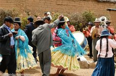 Aymara day! The word in aymara of the day is thoqoña that means dance.