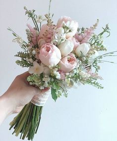 Small Wedding Bouquets, Wedding Flower Arrangements, Bride Bouquets, Flower Bouquet Wedding, Bridesmaid Bouquet, Floral Bouquets, Floral Wedding, Floral Arrangements, Vintage Bridal Bouquet