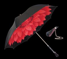 Brolly with a bit of flashin' zing. The Ruby Oracle. As seen in the Adelaide* magazine June 2012 issue.