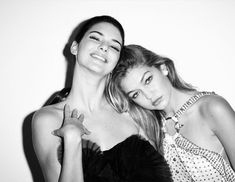 Gigi Hadid and Kendall Jenner | @nickibryson