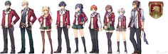 Legend of Heroes: Trails of Cold Steel - Class VII