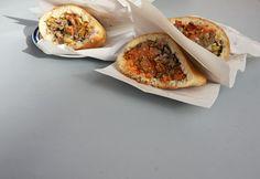 Moroccan Sardine Kefta Sandwiches
