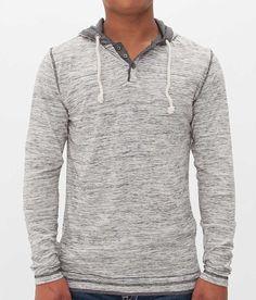 BKE Vintage Reid Henley Hoodie - Men's Hoodies/Sweatshirts | Buckle