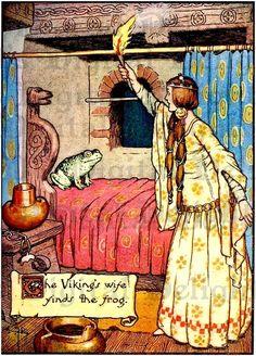 Fairy Tale Illustrations Vintage   vintage fairy tale illustrations   Frog…