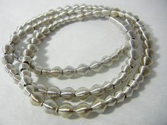 Piano Wire Silver Dots bracelet by Cre8tvqn on Etsy