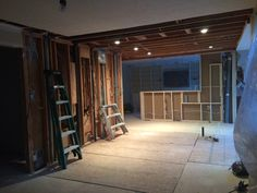 Open Concept, Powder Room, Divider, Garage Doors, Outdoor Decor, Kitchen, Furniture, Home Decor, Trough Sink