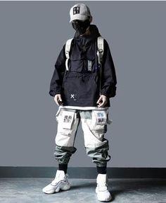 Mode Cyberpunk, Cyberpunk Clothes, Cyberpunk Fashion, Mode Streetwear, Streetwear Fashion, Dress Drawing Easy, Urbane Mode, Mode Alternative, Japanese Streetwear