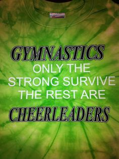 I may have been both, but I cannot help but agree slightly... ;) #gymnastics