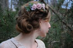 A rose boho head piece  https://www.etsy.com/listing/186697210/hair-comb-rose-hair-accessory-flower?ref=shop_home_active_1