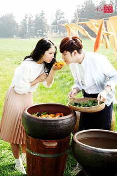 Jang Geun Suk and Park Shin Hye relive their romance in a journey in Jeju Korean Actresses, Korean Actors, Kbs Drama, Jang Keun Suk, Song Joong Ki, Park Shin Hye, Pretty Men, You're Beautiful, Carne