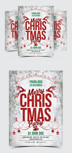 Christmas Flyer / Poster / Invitation