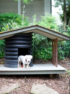 Dog house design. This is awesome!