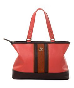 Look what I found on #zulily! Poppy Boutique Leather Carry-All Tote #zulilyfinds