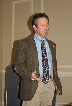 Dr. Randy Caviness of the Integrated Animal Health Center in Bolton, MA speaking on the use of acupuncture, chiropractic, Chinese and Western herbs, Reiki, and Massage during The Conference on Complementary Animal Healing.