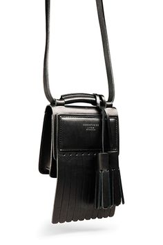 21 Kooky Spring Bags For Any Quirky Girl Extreme Fringe  Fringe is no longer reserved strictly for the music-festival set anymore — not after the trim swung down the runways of designers like 3.1 Phillip Lim and Derek Lam. Acne Studios Laurie Bag, $410, available at Acne Studios.