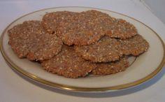 Gluten-Free Low-Carb Sesame Crackers Recipe