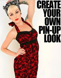 Create your own pin up look by Kristen Leanne, via Flickr
