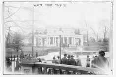 The White House, Washington, D.C., 1913. Photo: The Library of Congress / Flickr    http://shar.es/pEQQO #VintageTravel #Travel