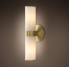 RH's Sutton Double Sconce:Sutton brings a quality hotel aesthetic to your bath.