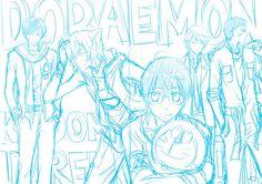 Doraemon- WIP by kuso-taisa on DeviantArt