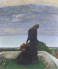 Heinrich Vogeler - Abschied, 1898, Künstlerkolonie Worpswede