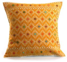 Embroidered Pillow Case   Chiapas, Mexico