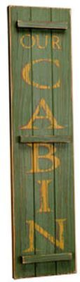 Cabin Signs & Wall Hangings